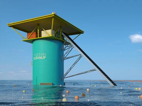 konstrukcja ocean cleanup