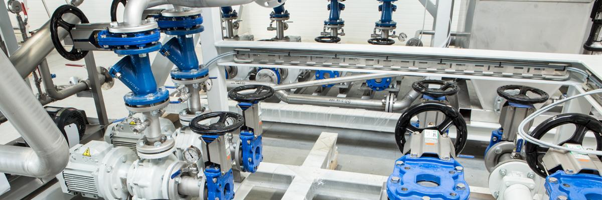 Urządzenia dla przemysłu chemicznego